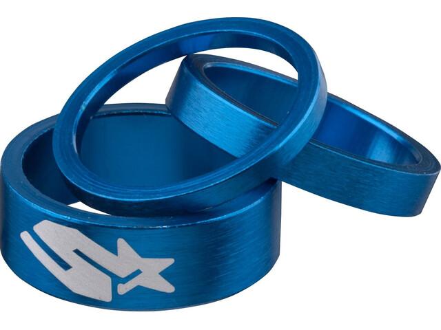 Spank Headset Spacer Kit 3 Stück blue